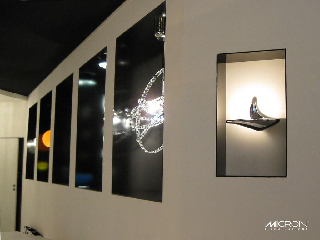 Micron illuminazione design micron mama orchidea di cristallo