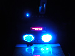 light radio mini mp3 player led speaker