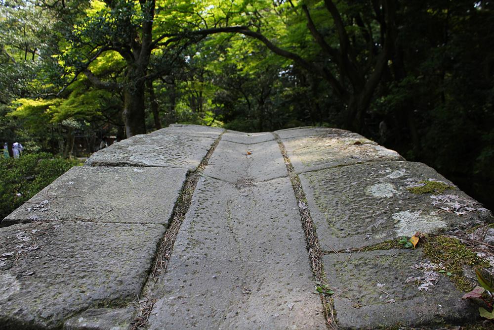 図月橋@尾山神社