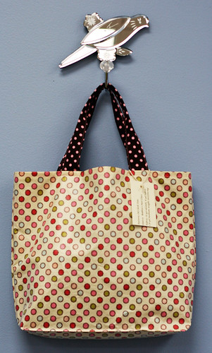 Oil Cloth Tote Bag