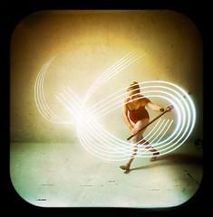 Lights, camera, action (Ben Canales) Tags: longexposure light ballet lightpainting painting lights dance ballerina dancing traditional dancer tights step strobe bencanales