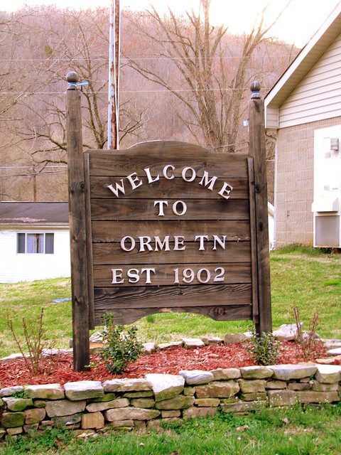Welcome to Orme, TN