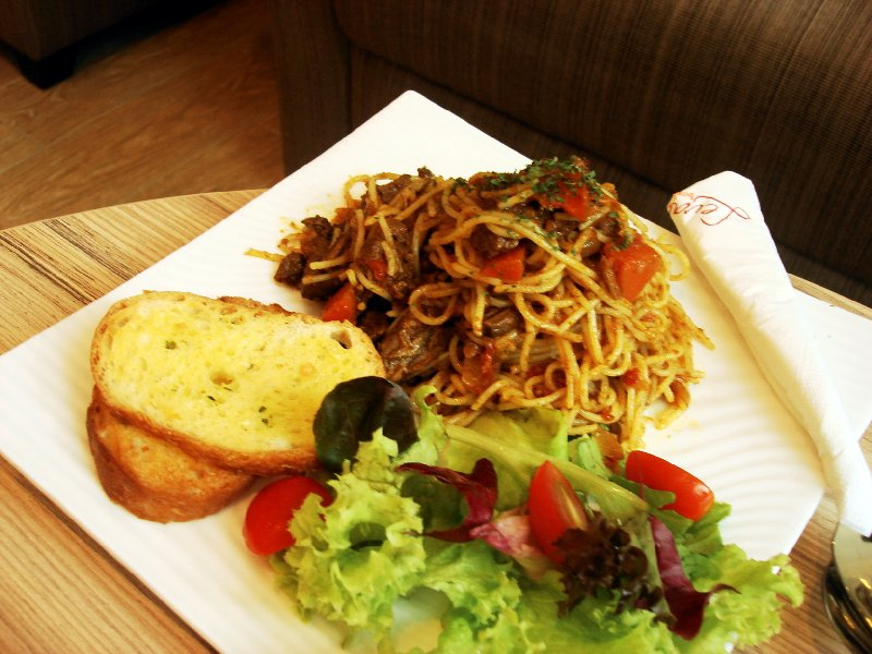 dry beef curry spag