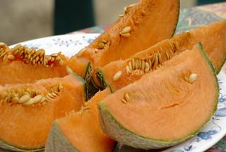 Melon découpé