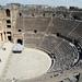 The cavea of the Roman theatre in Bosra