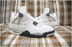 1999 White Cement IV's. (dunksrnice) Tags: white shoe air cement jr 1999 nike jordan collection sneaker rolo nikes ivs jordans tanedo dunksrnice wwwdunksrnicenet rolotanedo dunksrnicenet rolotanedojr