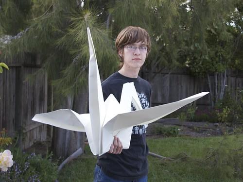 Life Size Paper Crane