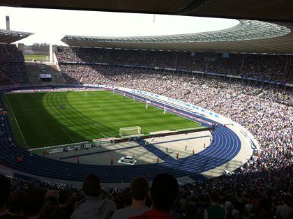 Hertha BSC im Olympiastadion - Nie mehr 2. Liga! (1)