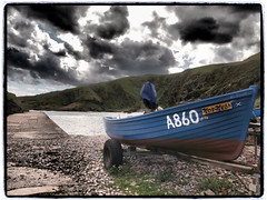 Harbour at Cove Bay (FotoFling Scotland) Tags: coast scotland aberdeenshire