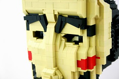 Guy Fawkes (Brian Rinker) Tags: november sculpture brick guy face statue movie for remember lego mask graphic 5 bust v novel build 5th vendetta fawkes moc atin