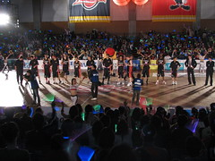 Osaka Evessa Post-game Show - Kadoma, Osaka, Japan (glazaro) Tags: city basketball japan japanese asia stadium arena dome  osaka sendai kansai kadoma namihaya bjleague evessa 89ers