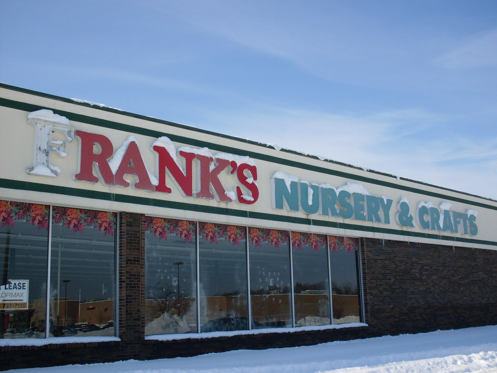 Kalamazoo Township Michigan Franks Nursery And Crafts Sign Darrell Harden Tags