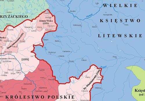 Liwiec_granica_za_panowania_Kazimierza_Wielkiego