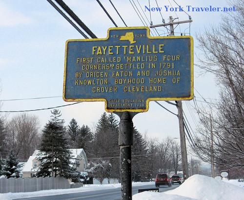 Fayetteville Marker