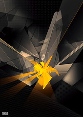 It all started here (---stress---origami samurai!) Tags: wallpaper abstract art composition photoshop image sorin illustrator grpahics bechira slashthree