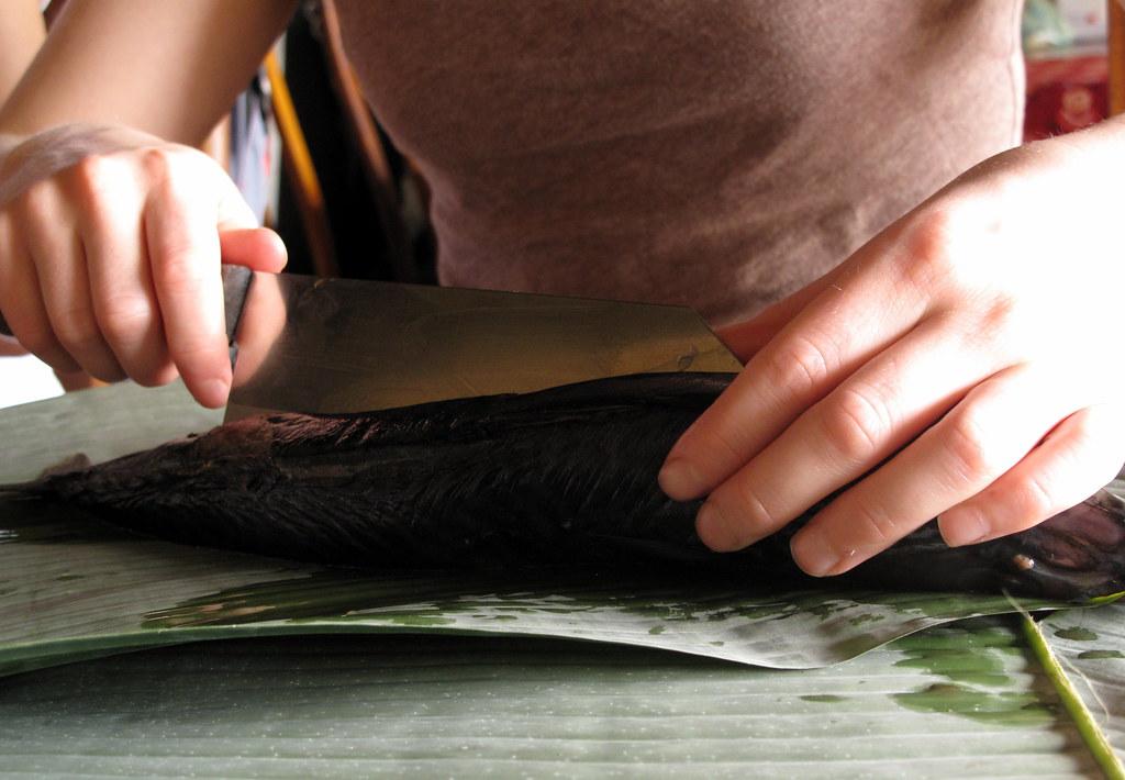 Fish recipe, cooking class, Vietnam