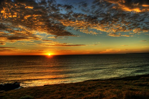 Phillip Island Sunset HDR - by Michael Scott