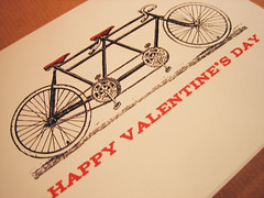 Bicycle Valentine's Day Card (e.m.papers) Tags: valentinesday printables valentinescard valenine valentinedownload printablecards downloadablecard valentinetemplate