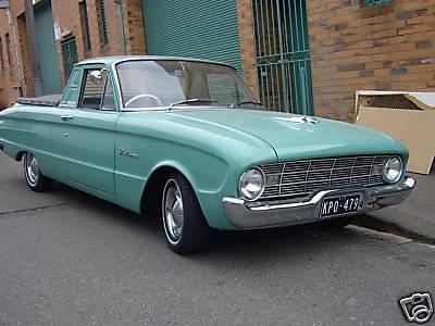 FORD Falcon [Australia] (1960-1971) | CAR SPOTTERS Guide
