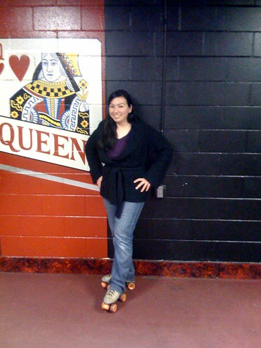 I am a skating queen!