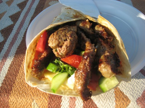 Turkish kebabs - delicious