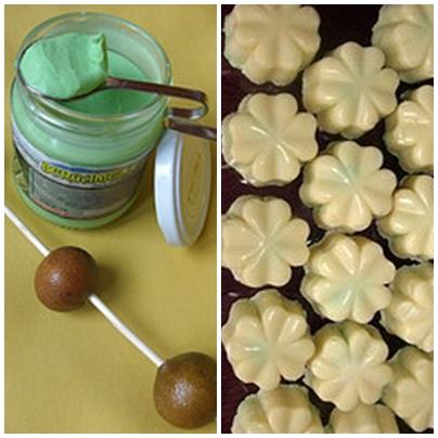 Quadrifogli bianchi al(la crema di)  bergamotto