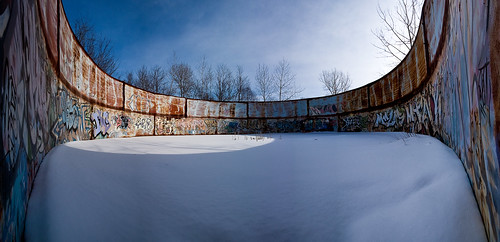 Tileston-Hollingsworth Dam tank panorama