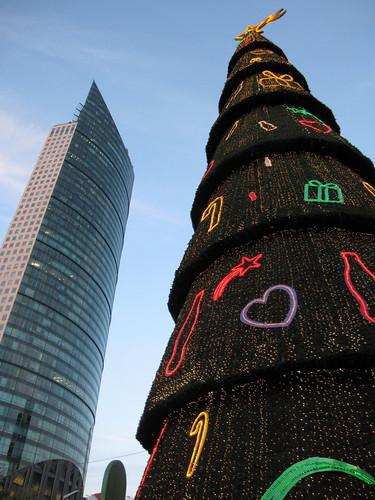 Coca cola X'mas tree