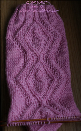 Eglantine socks - cuff