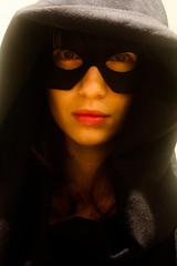 Le Petit Chaperon Bleu Marine (bonus) (Why Not Linh Vu) Tags: red eye face dark rouge hoodie eyes mask little yeux riding littleredridinghood le hood loup charlesperrault visage petit masque grimm chaperon capuche lepetitchaperonrouge