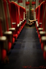 All Alone (Q@TaR_in_MyEye) Tags: west london train canon way eos south mohammed 5d fav feb 2009 pictureperfect althani fanan my aplusphoto colourartaward