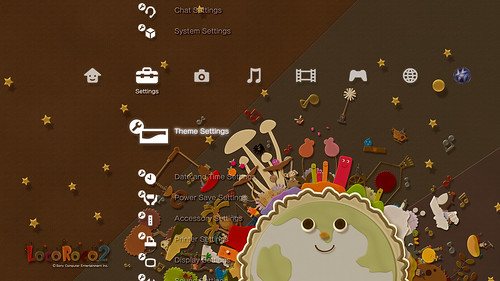 LocoRoco 2 Planet Theme screenshot