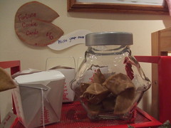 fortune cookie card display (misskoco) Tags: cookie display handmade fortunecookie felt card kawaii etsy greeting mewgallery