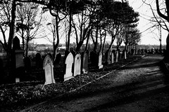 Great Sankey cemetary (Rabid Miffy) Tags: blackandwhite graveyard canon warrington village cheshire cemetary atmospheric stmarys eos40d greatsankey