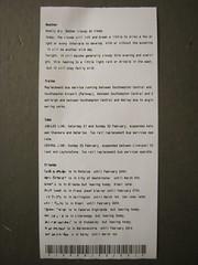 Microprinter testing - font B