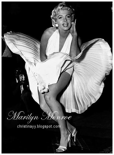 Marilyn Monroe Famous Pose