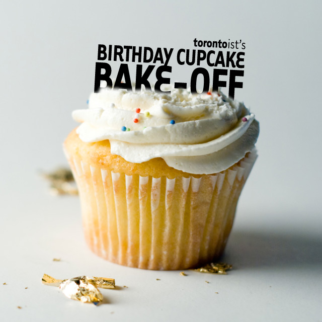 Torontoist birthday cupcake bake-off