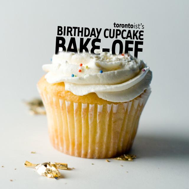 Torontoist birthday cupcake bake-off