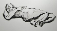 Thumb Drawings - Female Model