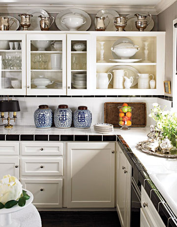 how to decorate above kitchen cabinets decorating above kitchen cabinets our suburban cottage 8603