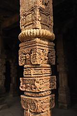 India New Delhi _D7C2008 (youngrobv) Tags: india geotagged nikon asia minaret unescoworldheritagesite gps fx complex qutub minar n1 bharat newdelhi qutb qutab uttarpradesh  0812 robale hindustan alaidarwaza d700    youngrobv 2470mmf28g solmeta alaigate  d7c2008