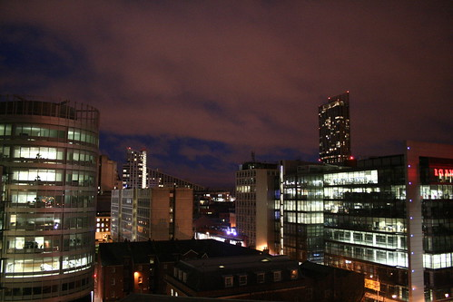 Manchester by Night - Spinningfields 066