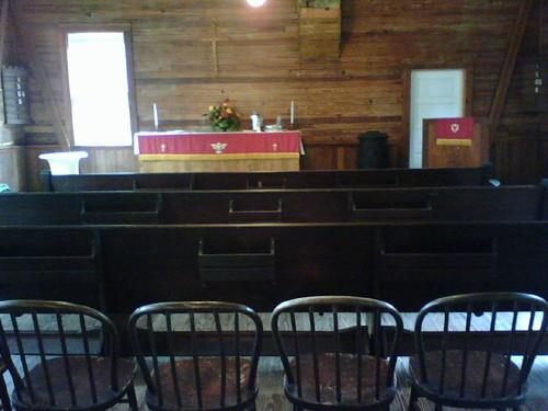 St. Mark's Lutheran Church interior
