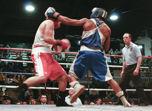 Chicago Golden Gloves Amateur Boxing Tournament