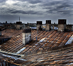 Roofs of old town (ntsuleva) Tags: roofs saintpetersburg hdr photomatix tonemapped