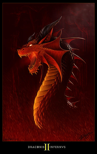 Draconis Infernvs II by Nick Deligaris