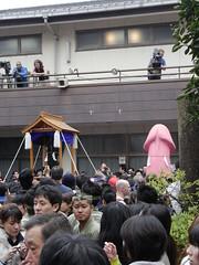 20090405 016 (DiscoWeasel) Tags: festival japan steel  fertility shinto matsuri phallus kawasaki kanamara
