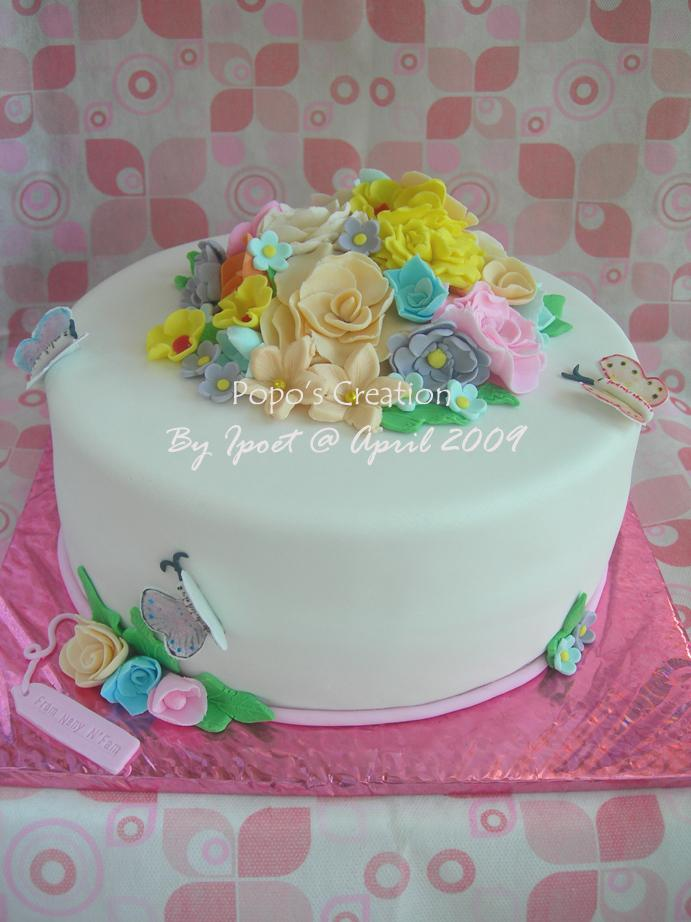 Flower Cake for Dendy and Lita