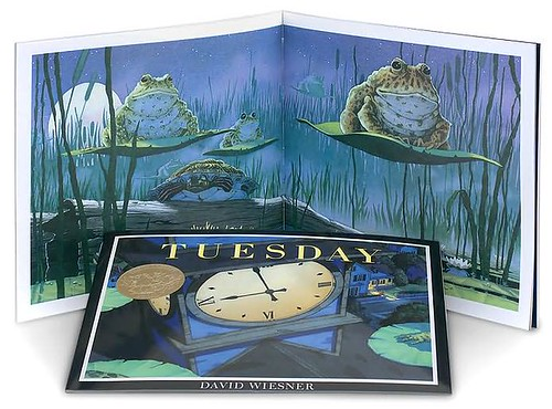 Top 100 Picture Books #24: Tuesday by David Wiesner