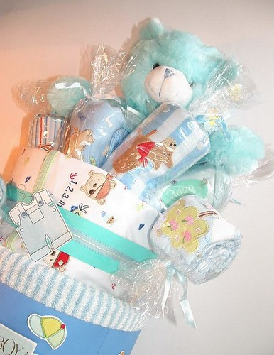 baby boy clothes. 3 Tiered clothes Cake Baby Boy